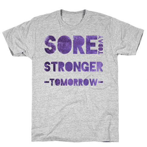 Sore Today Mens T-Shirt