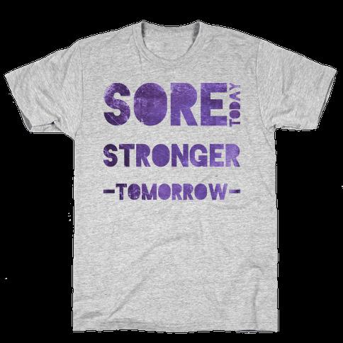 Sore Today Mens T-Shirt