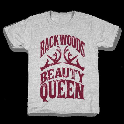 Backwoods Beauty Queen Kids T-Shirt