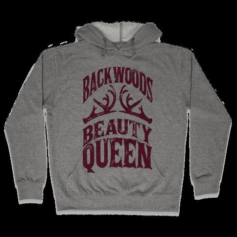 Backwoods Beauty Queen Hooded Sweatshirt