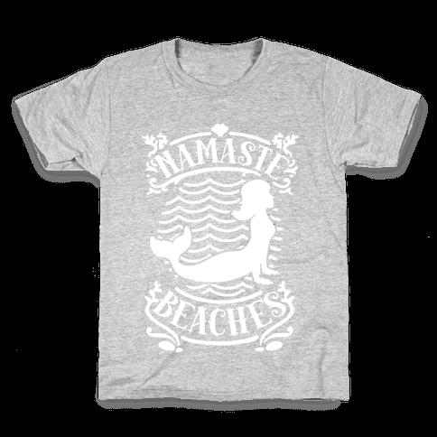 Namaste Beaches Kids T-Shirt