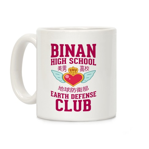 Binan High School Earth Defense Club Coffee Mug