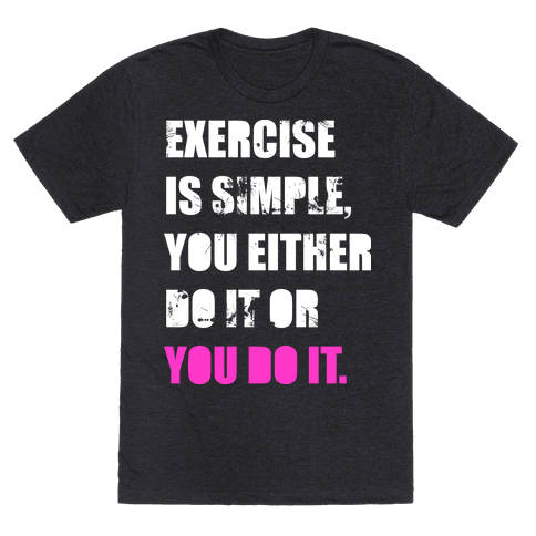 Exercise Is Simple