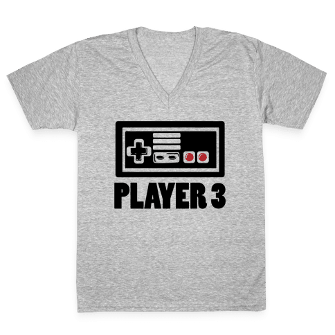 Player 3 V-Neck Tee Shirt