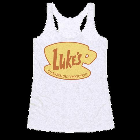 Luke's Diner Logo Racerback Tank Top