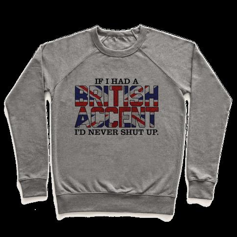 British Accent Pullover