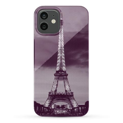 Eiffel Tower Case (Purple) Phone Case