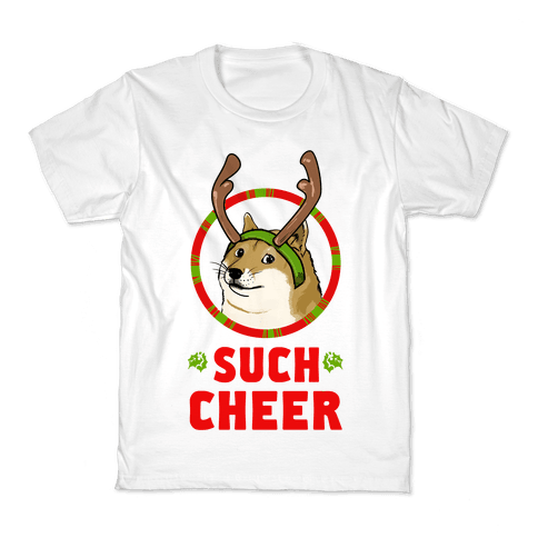 Christmas Doge Kids T-Shirt