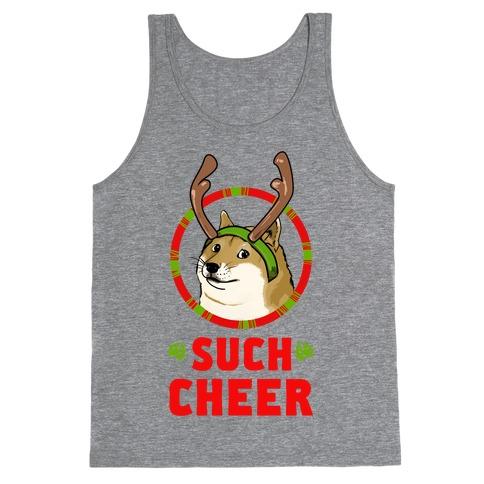 Christmas Doge Tank Top