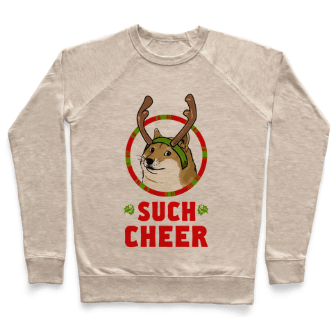 Christmas Doge Pullover