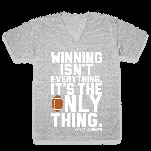 Winning V-Neck Tee Shirt