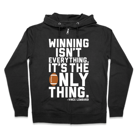 Winning Zip Hoodie