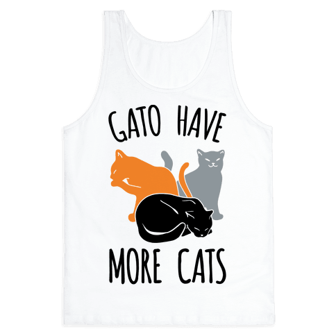 Gato Have More Cats Tank Top