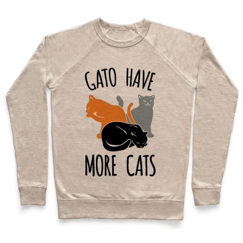 Gato Have More Cats Pullover