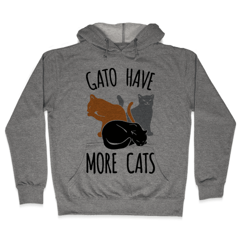 Gato Have More Cats Hooded Sweatshirt