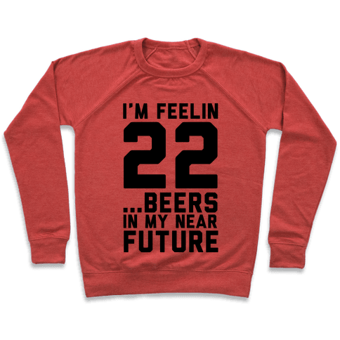 I'm Feeling 22...Beers Pullover