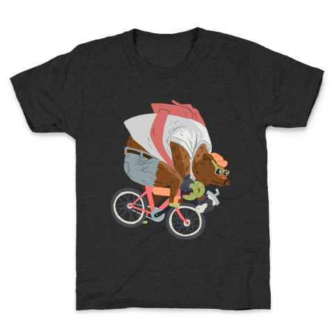 Fixed Gear Bear Kids T-Shirt