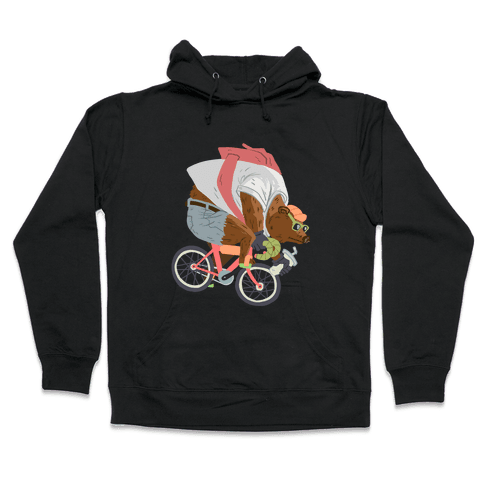 Fixed Gear Bear Hooded Sweatshirt