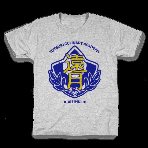 Totsuki Culinary Academy Alumni Kids T-Shirt