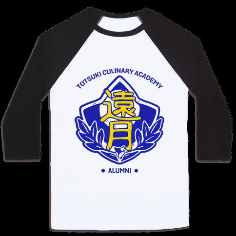 Totsuki Culinary Academy Alumni Baseball Tee