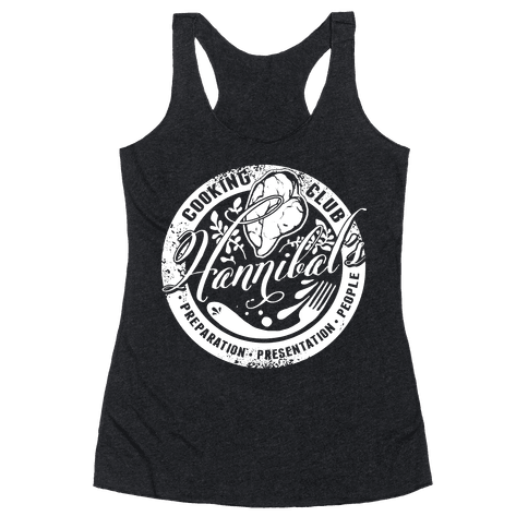 Hannibal's Cooking Club Racerback Tank Top