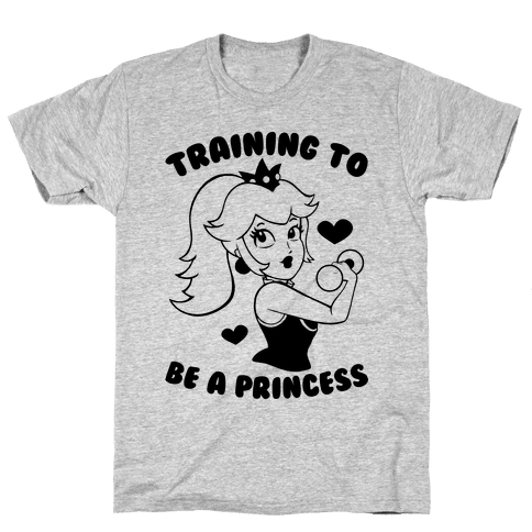 Training To Be A Princess Mens T-Shirt
