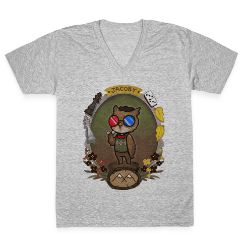 Dr Jacoby V-Neck Tee Shirt