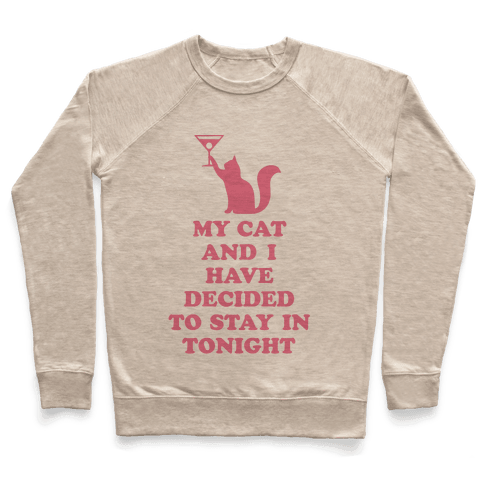 My Cat And I Pullover