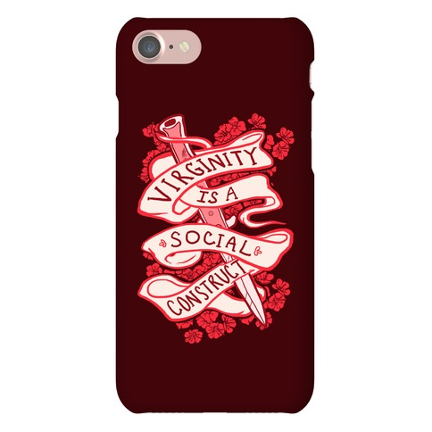 Virginity Is A Social Construct Phone Case