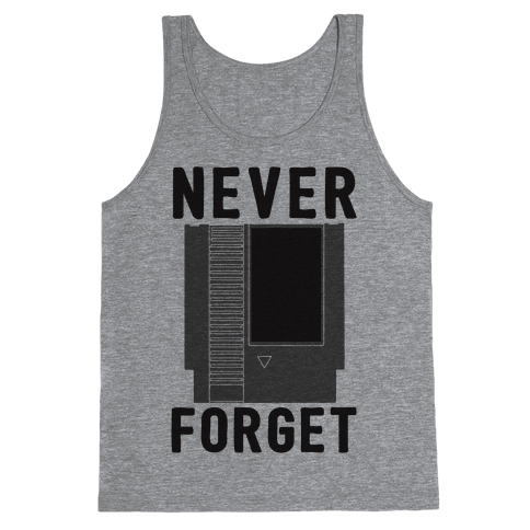 NES: Never Forget Tank Top