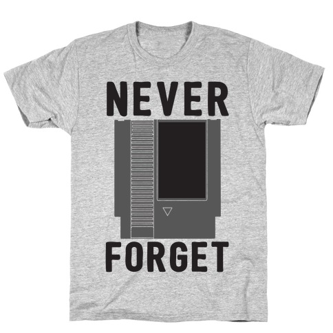 NES: Never Forget T-Shirt