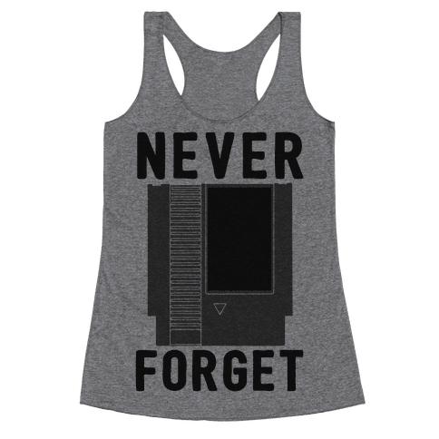 NES: Never Forget Racerback Tank Top