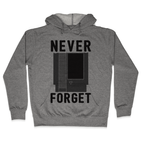 NES: Never Forget Hooded Sweatshirt