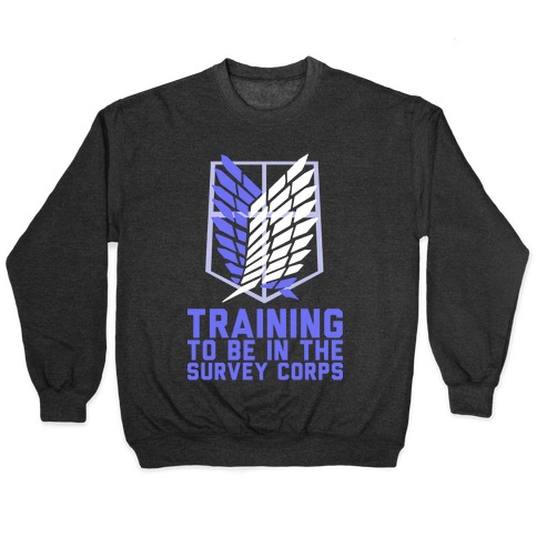 Training To Be In The Survey Corps Pullover