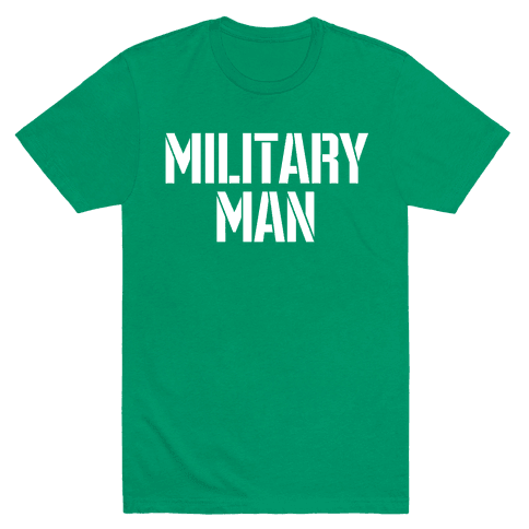 Military Man Mens T-Shirt