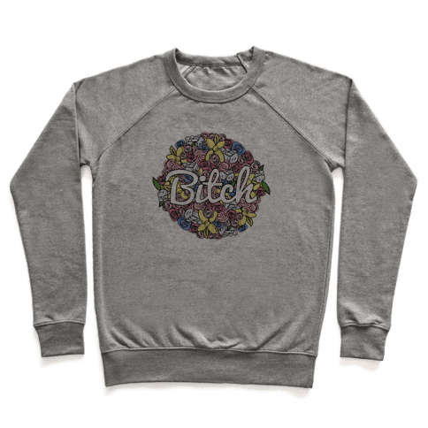 Floral Bitch Pullover