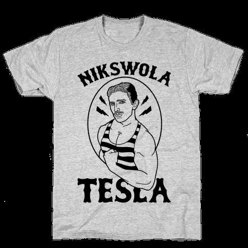 Nikswola Tesla Mens T-Shirt
