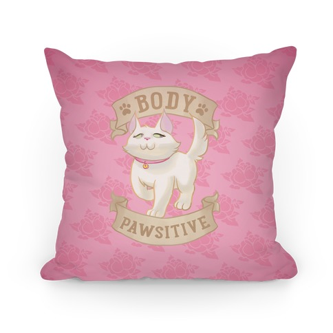 Body Pawsitive Pillow