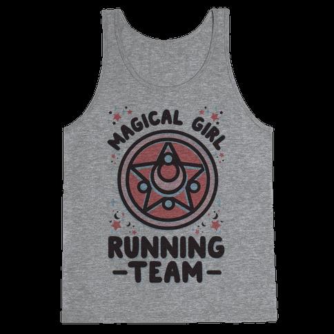 Magical Girl Running Team Tank Top