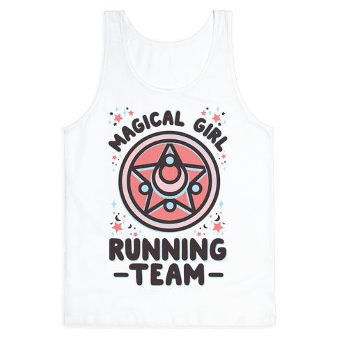 Magical Girl Running Team Tank Top