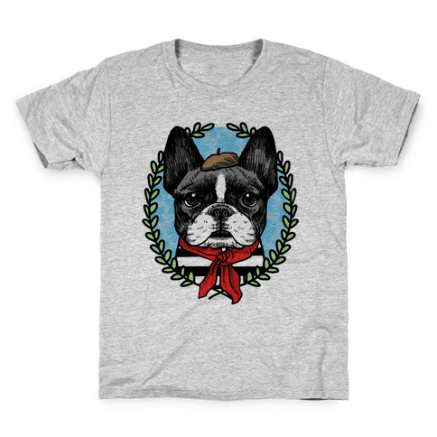 French Bulldog Illustration Kids T-Shirt