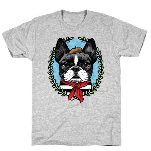 French Bulldog Illustration T-Shirt