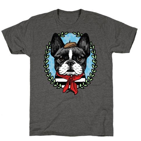 French Bulldog Illustration T-Shirt