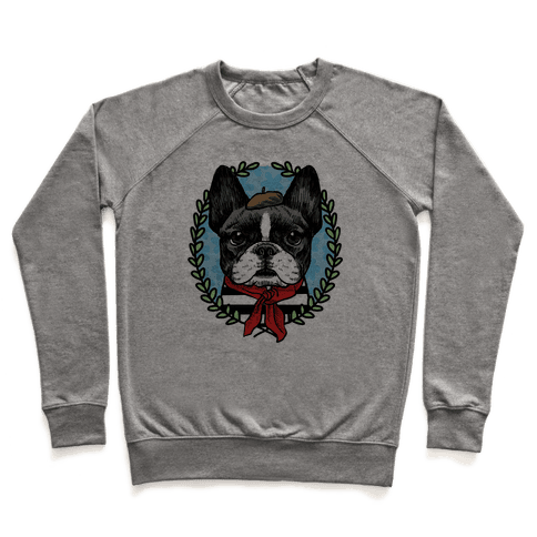 French Bulldog Illustration Pullover