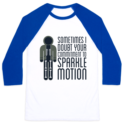 Sparkle Motion Baseball Tee