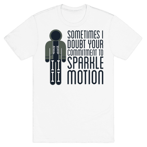 Sparkle Motion Mens T-Shirt
