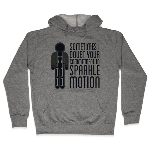 Sparkle Motion Hooded Sweatshirt