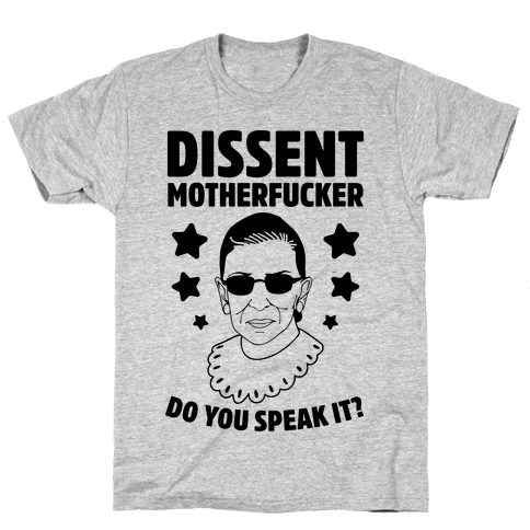 Dissent, MotherF***er Mens T-Shirt