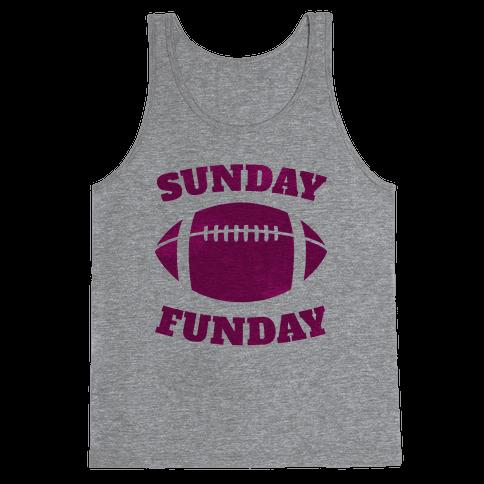 Sunday Funday (Pink) Tank Top
