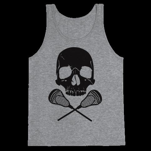 Lacrosse Bones Tank Top